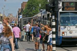 Bus en tram GVB veel drukker in 2015