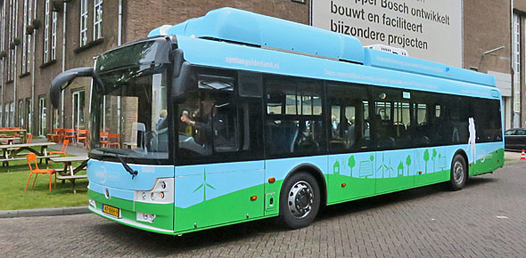 Waterstofbus vanaf augustus in Apeldoorn