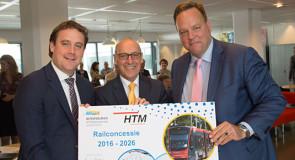 Tienjarig railcontract voor RET en HTM