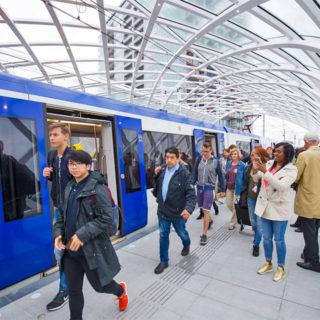 Rechtstreeks naar Rotterdam met lijn E