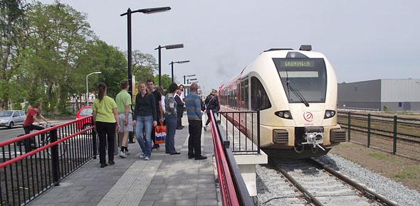 Emmen–Groningen straks per spoor?