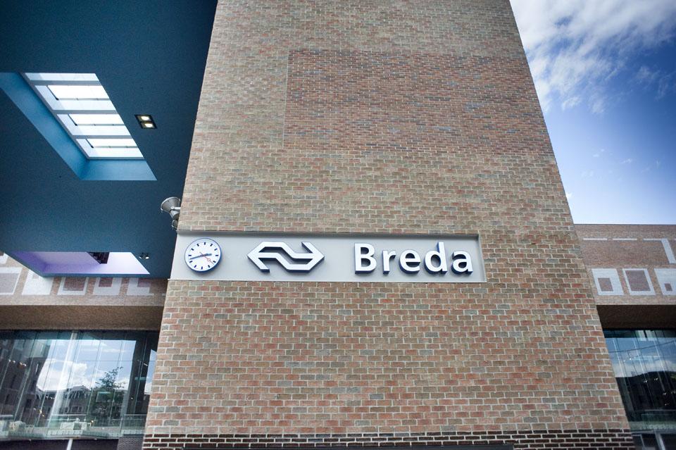 Station Breda opgeleverd