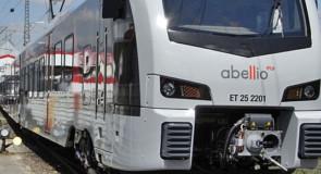 Stoptrein Arnhem-Düsseldorf al in april