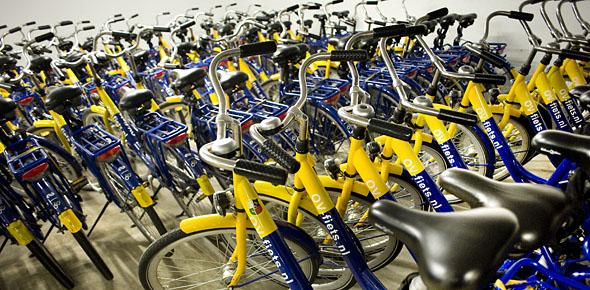 Wie een OV-fiets wil, vangt vaak bot