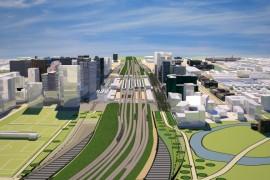 Internationaal consortium bouwt Zuidasdok