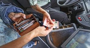 Niet alle vervoerders cashloos per 2018