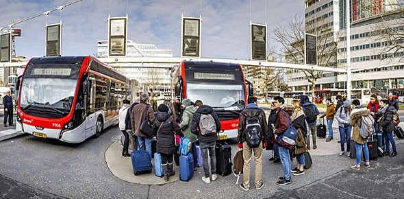 Eindhovense e-bussen maken belofte waar