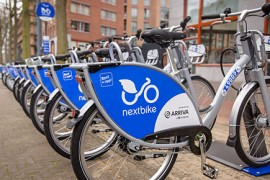 Maastricht in 2 jaar naar 250 deelfietsen