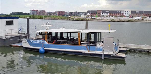 Waterbus ook naar Schiedam en SS R'dam