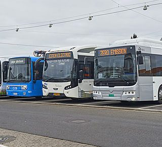 Zes elektrische bussen getest