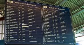 Vier stations krijgen 'lamellenbord' terug
