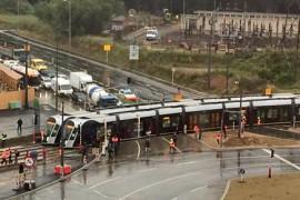 Luxemburgse tram maakt eerste testrit
