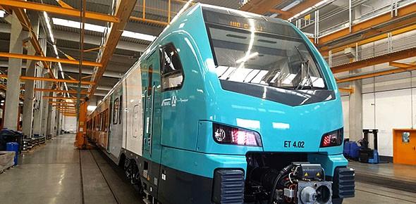 Eerste trein voor Hengelo-Bielefeld gereed
