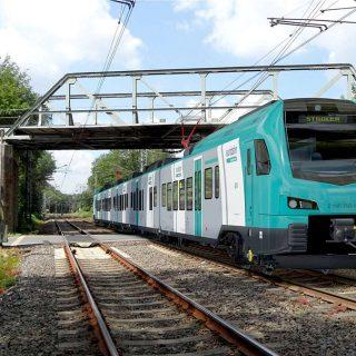 Hengelo-Bielefeld rijdt, alleen in Duitsland