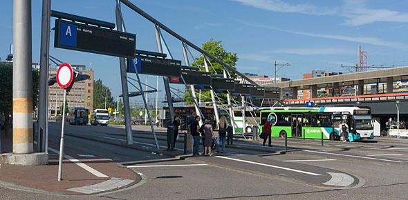 Busstation Leiden blijft op huidige locatie
