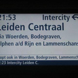 Treinreis Leiden–Utrecht kan sneller