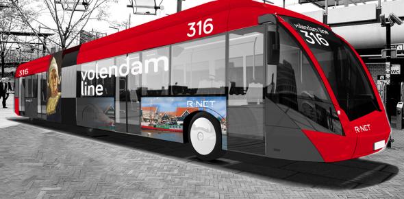 E-bussen op Amsterdam–Edam vanaf juli