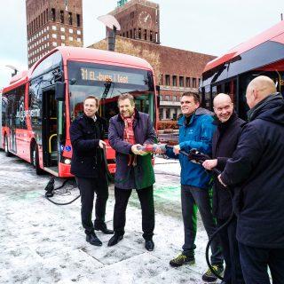 Oslo elektrificeert voorzichtig busvloot