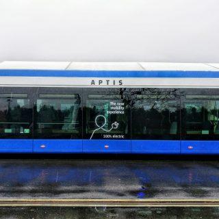 Alstom-bus Aptis op proef in Utrecht