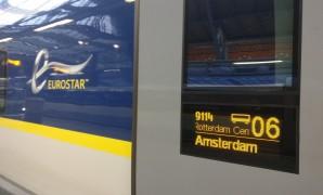 Direct van Londen naar Amsterdam