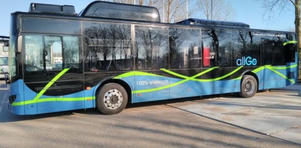 Keolis rijdt met zeven e-bussen in Almere