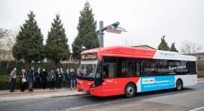 Negen nieuwe e-bussen in 's-Hertogenbosch