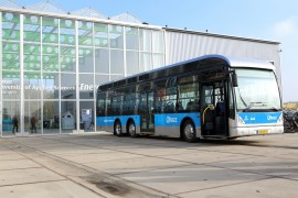 Waterstofbus richting rendement batterijbus