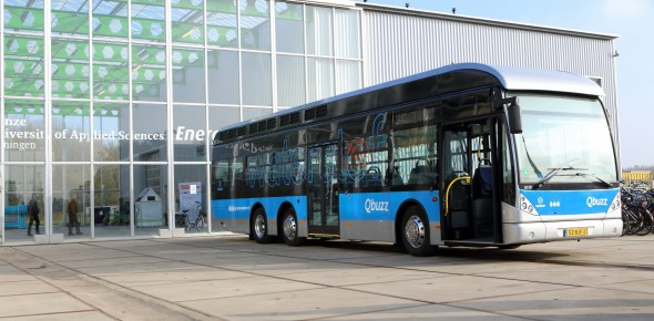 Waterstofbus richting rendement batterijbus
