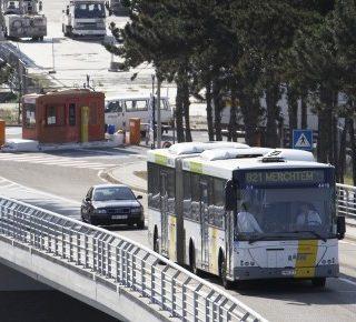 Proef met autonome bus op Zaventem