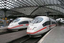 Siemens bouwt 30 ICE's Deutsche Bahn