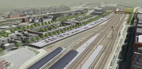Discussie rond stationsparking Den Bosch