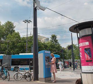 Vier tophaltes met wifi-hotspots in Arnhem