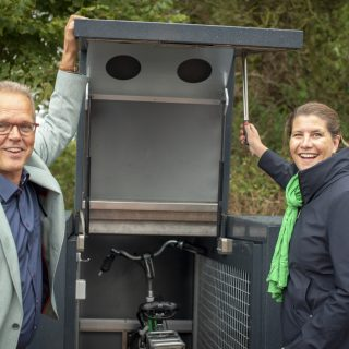 Hub in het Groningse Zuidhorn geopend