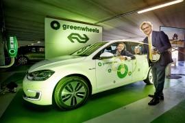 NS en Greenwheels lanceren e-Golfs