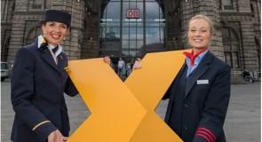 Met Lufthansa van Aken naar Frankfurt
