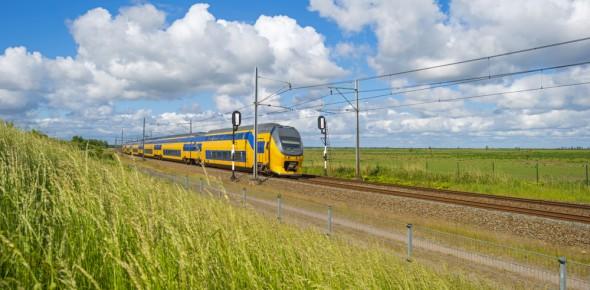 KiM: minder treinreizen door stijging btw