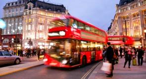 Londense bussen rijden nooit meer te hard