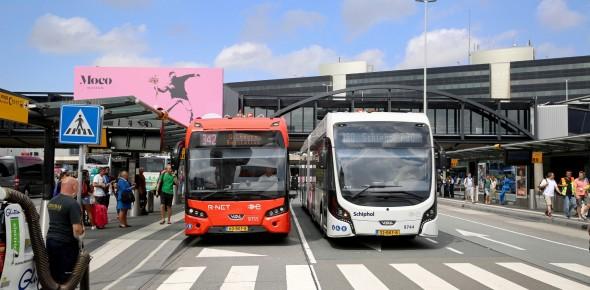 Connexxion 'denkt tram' rond Schiphol