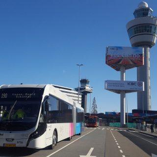 Schiphol blij met groot deel ov-reizigers