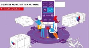 Ov wordt gedeelde mobiliteit in Brabant