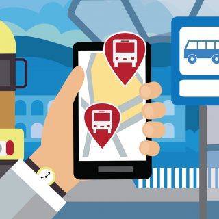 Slimme app geeft advies door reisgedrag