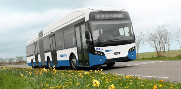 GVB bestelt 31 elektrische bussen bij VDL