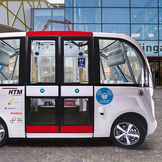 HTM ziet toekomst in zelfrijdende shuttles