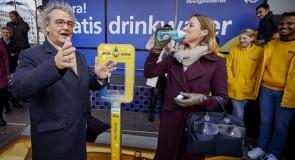 Gratis water op 20 stations Noord-Holland