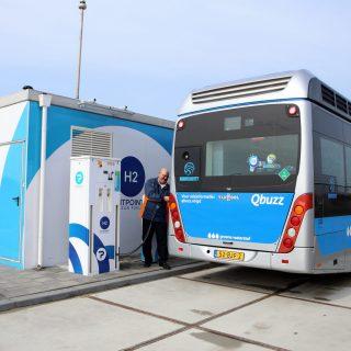 20 waterstofbussen voor Groningen Drenthe