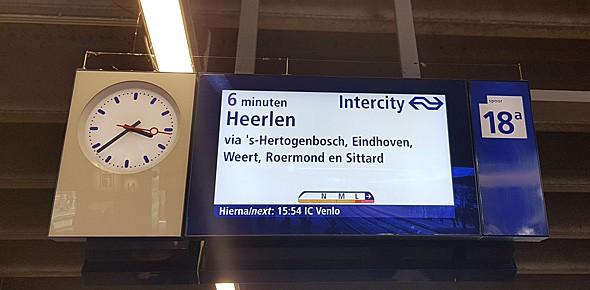 Proef met instapinfo op Utrecht Centraal