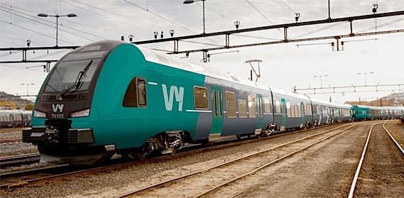 Noorse spoorwegen NSB heet nu Vy