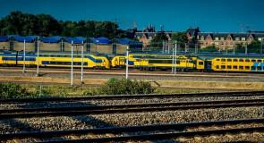 Werk aan spoor A'dam CS en Sloterdijk