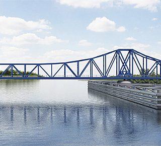 Friesenbrücke laat 2 treinen per uur toe