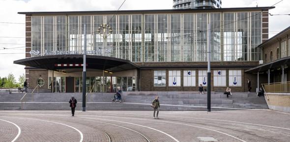Amstelstation is nu een moderne ov-knoop